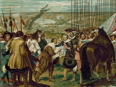 The Surrender of Breda, Netherlands, 1625 by Diego Velazquez