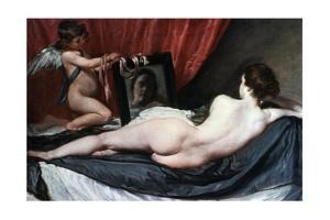 The Toilet of Venus (The Rokeby Venus), 1647-1651 by Diego Velazquez
