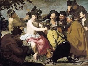 Triumph of Bacchus, 1628 by Diego Velazquez