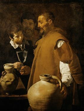 Water-seller in Sevilla, Spain. (1620). by Diego Velazquez