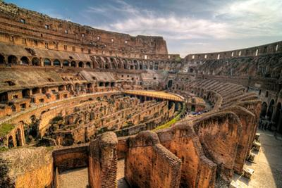 View of Colosseum by Dieter Schaefer