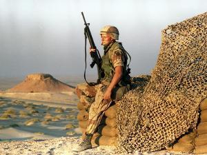 Saudia Arabia Gulf War 1990 by Diether Endlicher