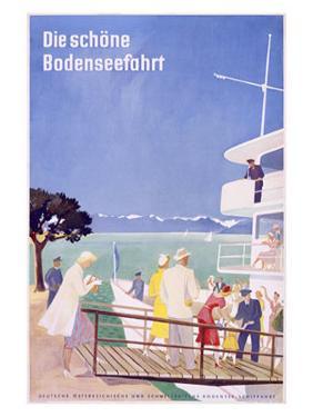 Bodensee, Fahrt by Dietrich Bodman