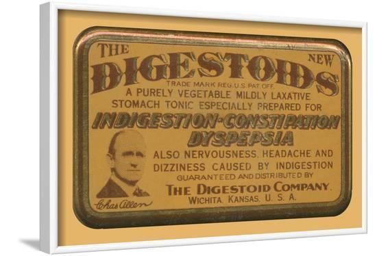 Digestoids--Framed Art Print