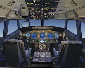 Digital 737 Flight Deck 2005