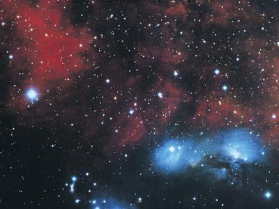 Gaseous Nebula in Cygnus