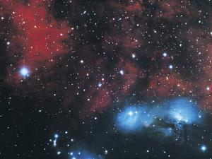Gaseous Nebula in Cygnus by Digital Vision.