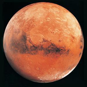 Mars, the Schiaparelli Hemisphere by Digital Vision.