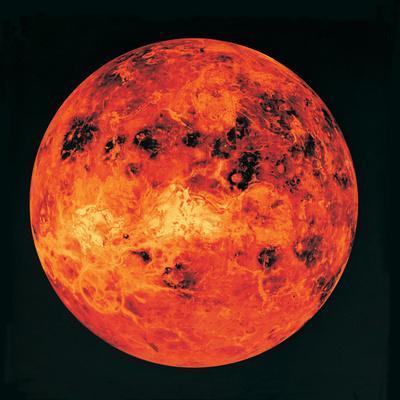 Venus, Radar Map