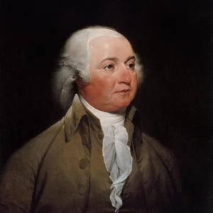 Digitally Restored American History Painting of President John Adams