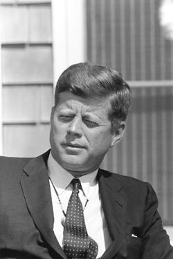 Digitally Restored Photo of President John F. Kennedy