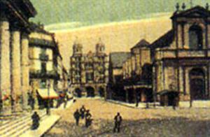 Dijon - La Place Saint-Etienne