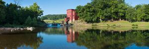 Dillard Mill at Dillard Mill State Historic Site, Dillard, Crawford County, Missouri, USA
