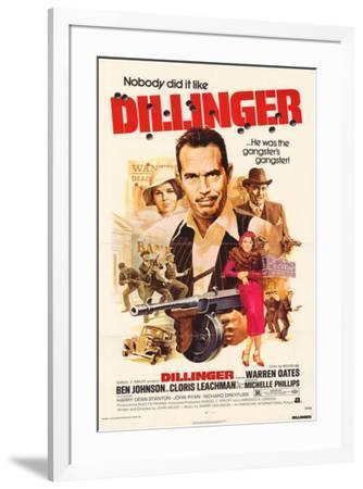 Dillinger--Framed Poster