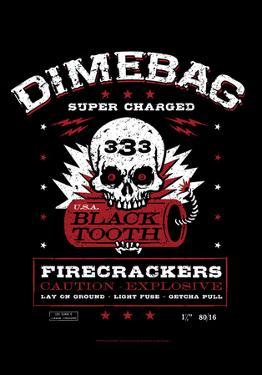 Dimebag- Firecracker Label