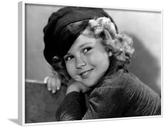 Dimples, Shirley Temple, 1936--Framed Photo