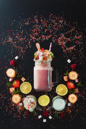 Milkshake Vignette
