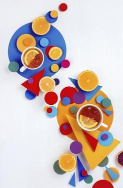 Suprematic Tea Party by Dina Belenko