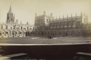Dining Hall, Christ Church College, Oxford, Oxfordshire, Late 19th or Early 20th Century