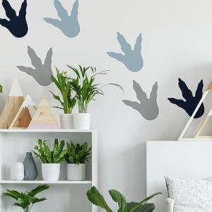 Dino Feet Peel And Stick Wall Decals