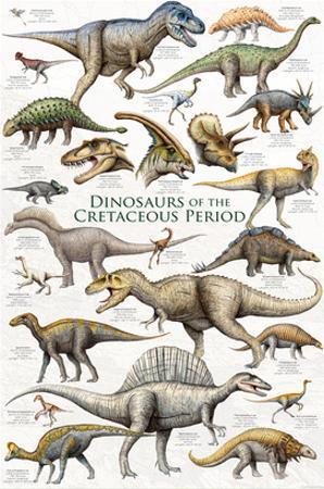 Dinosaurs, Cretaceous Period