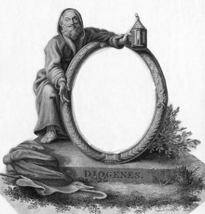 Diogenes with Lantern