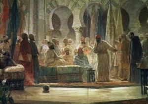 Abd Al-Rahman III by Dionisio Baixeras-Verdaguer