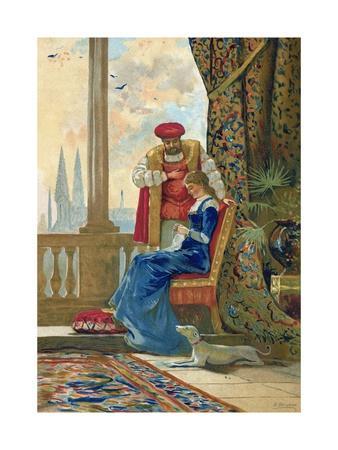 King Henry VIII and Ann Boleyn