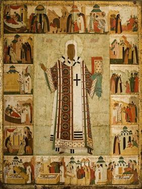Saint Alexius by Dionysius
