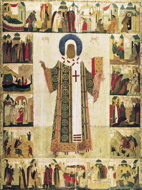 The Metropolitan Peter of Moscow with Scenes from His Life, 1480s by Dionysius