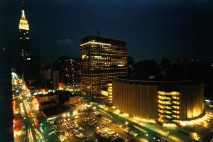 Exterior View of Madison Square Garden by Dirck Halstead