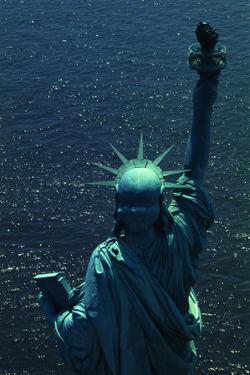 The Back of the Statue of Liberty by Dirck Halstead