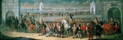 Charles II Processing from the Tower of London to Westminster, 22 April 1661