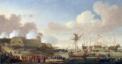 The Arrival of Catherine of Braganza at Portsmouth, 25 May 1662