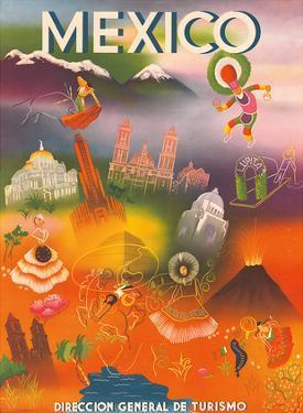 Direccion General de Turismo: Mexico, c.1950