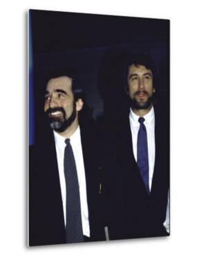 Director Martin Scorsese and Actor Robert De Niro