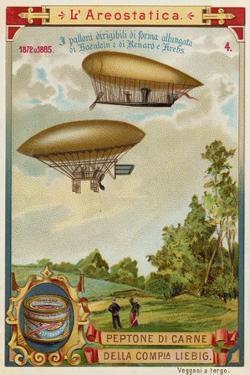 Dirigible Airships of Haenlein