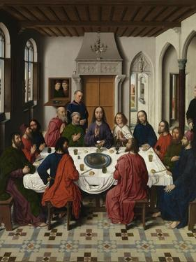 The Last Supper Altarpiece (Central Pane), 1464-1468 by Dirk Bouts