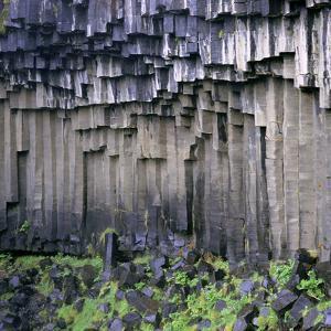 Columnar Basalt Rock by Dirk Wiersma