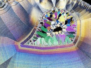 Geode In Thin Section by Dirk Wiersma