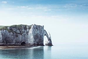 Porte d'aval & Aiguille Rock by Dirk Wuestenhagen
