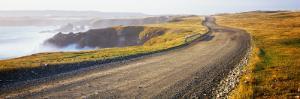 Dirt Road Passing Through a Landscape, Cape Bonavista, Newfoundland, Newfoundland and Labrador