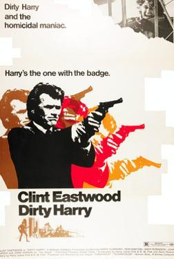 Dirty Harry, Clint Eastwood, 1971