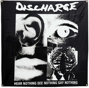 Discharge Hear Nothing Flag