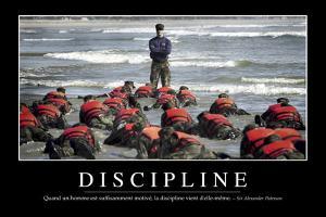Discipline: Citation Et Affiche D'Inspiration Et Motivation