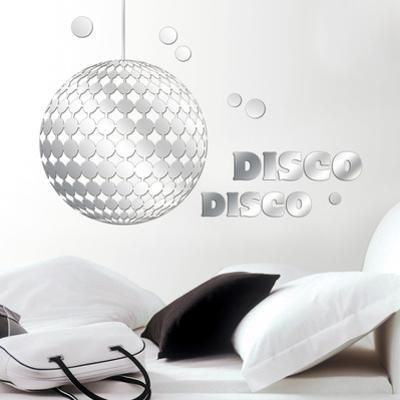 Disco Mirror Decal