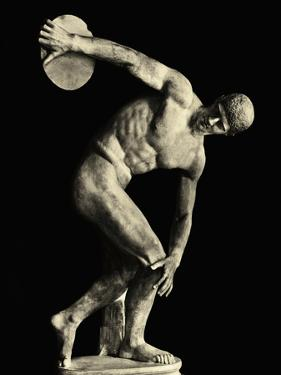 Discobolus Statue Attributed to Myron.