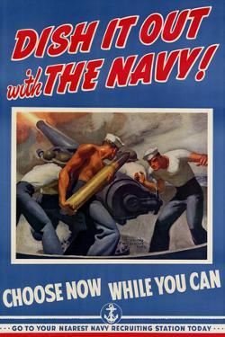 Dish It Out with the Navy - WWII War Propaganda