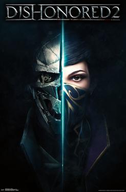 Dishonored 2- Game Cover Art