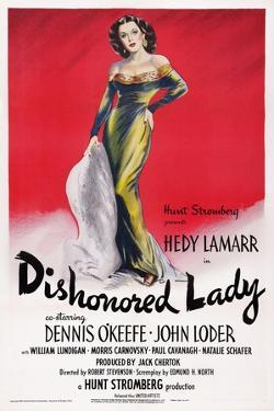 Dishonored Lady, Hedy Lamarr, 1947
